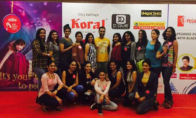 Mrs South India 2017 Grooming Session